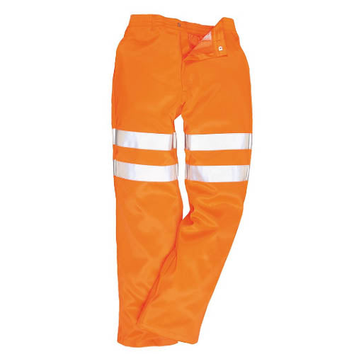 HI-VIS POLY-COTTON TROUSERS RIS - RT45