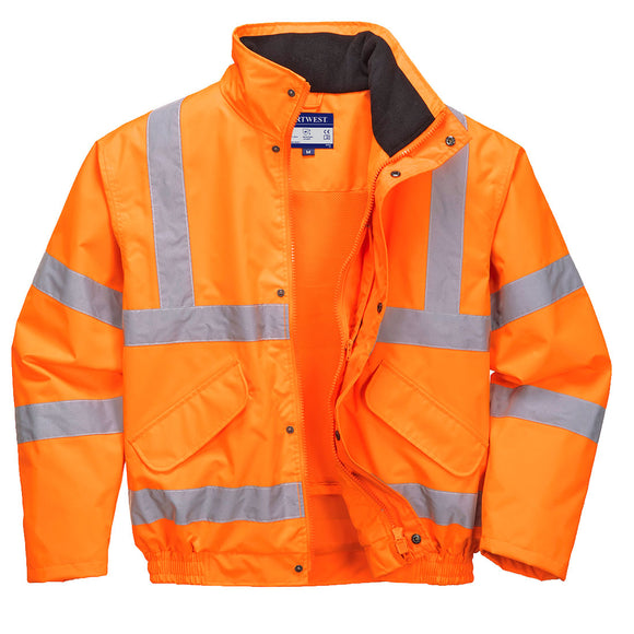 Hi Vis Breathable Bomber Jacket - RT62