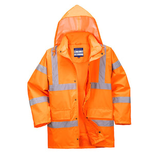 Hi-Vis Breathable Traffic Jacket (Interactive) - RT63