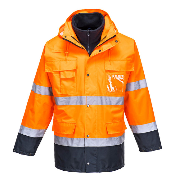 Hi-Vis Lite 3 In 1 Jacket - S162