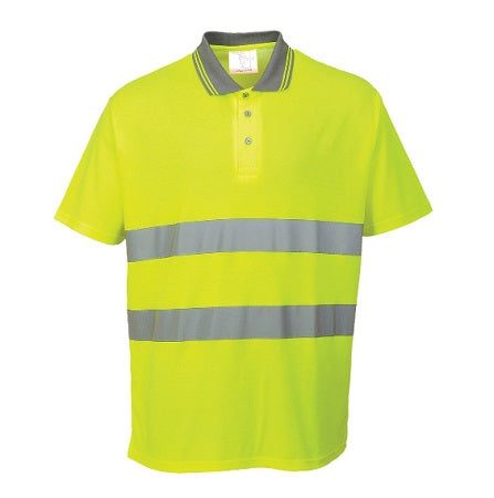 High Visibility Cotton Comfort Polo - S171