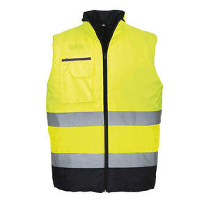Hi Vis Two Tone Bodywarmer - S267