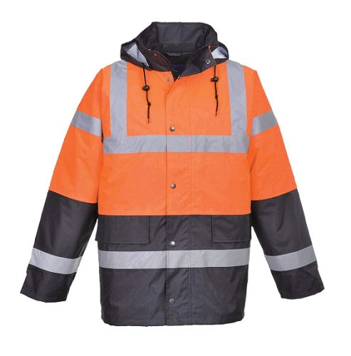 HI-VIS TWO TONE TRAFFIC JACKET - S467