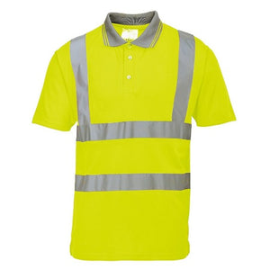 Hi Vis Short Sleeved Polo Shirt - S477