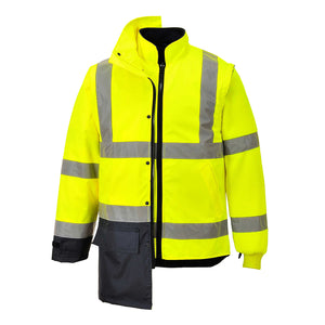 Hi-Vis Executive 5-In-1 Jacket - S768