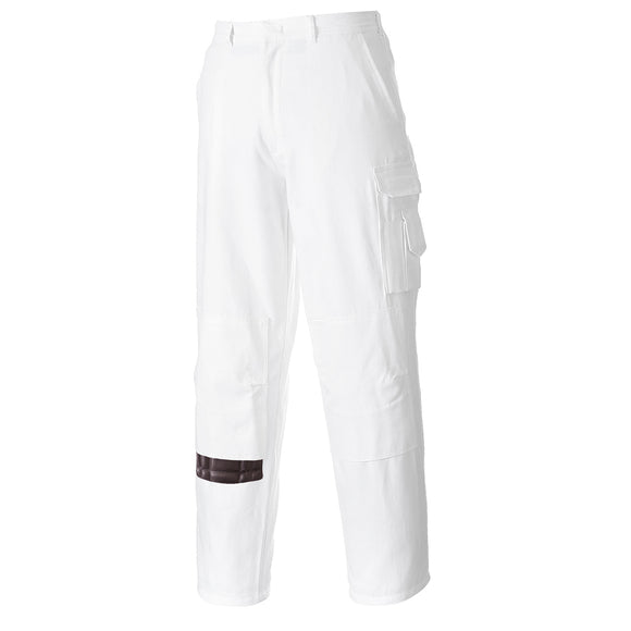S817 - Painters Trouser White Tall