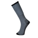 WORK SOCKS - PK 3   BLACK & GREY            SK33
