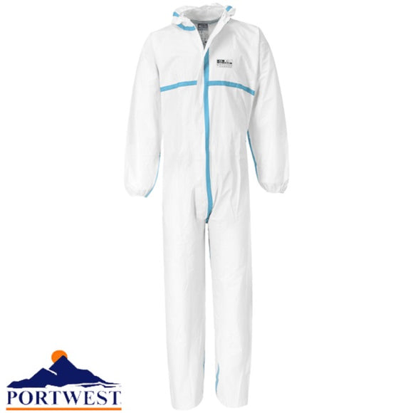 ST60 - BizTex Microporous 4/5/6 Coverall, Anti-static, Chemical & Low Lint