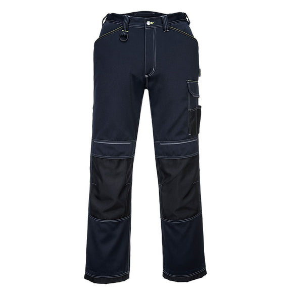 T601 - PW3 Work Trousers Navy/Black Short
