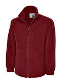 Premium Full Zip Micro Fleece Jacket - UC601