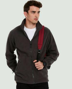 Full Zip Fleece Black Medium - UC601