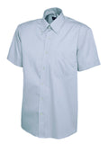 Men's Pinpoint Oxford Half Sleeve Shirt - UC702