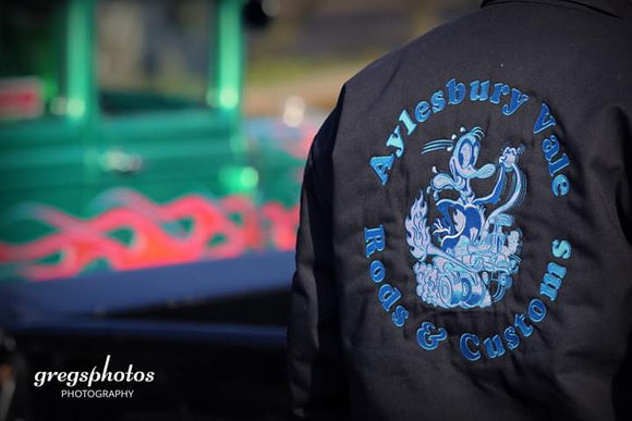Aylesbury Vale Garage Jacket with Embroidery -