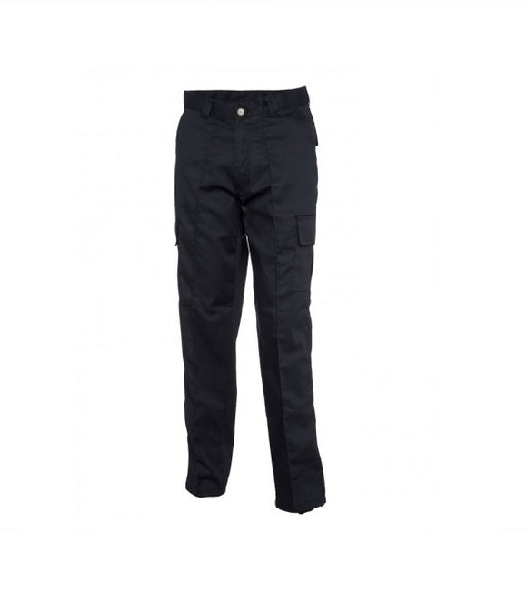 Ladies Cargo Trousers, Navy - UC905