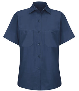 Woman's Red Kap Industrial Solid Work Shirt - SP23