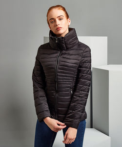 Women's contour quilted jacket
