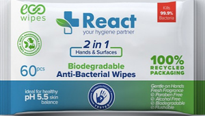 Anti Bacterial Hand Wipes (60 wipes per pack)