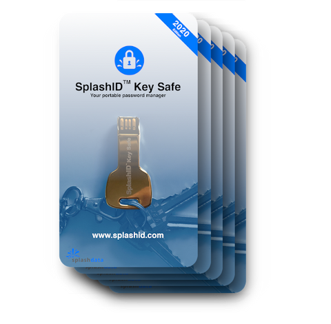 SplashID Key Safe 5 Pack