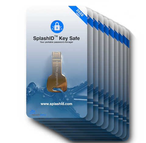SplashID Key Safe 10 Pack