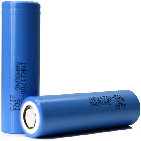 Samsung 50E 21700 5000mAh 9.8A Battery