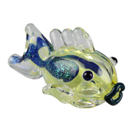 "3.5"" Dichro Fish Glass Pipe"