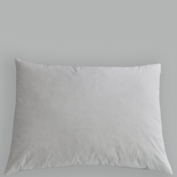 Lux Down Feather Pillow Insert