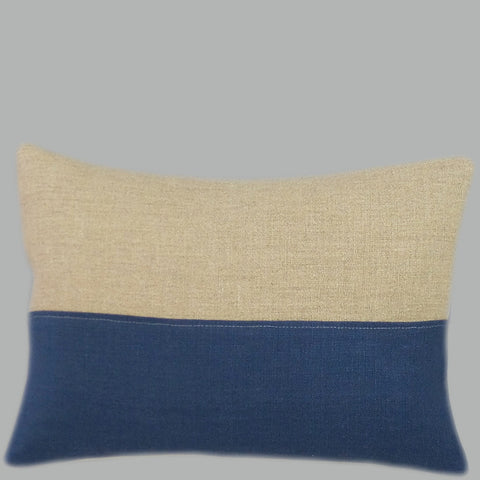 Pure Linen Colour Block