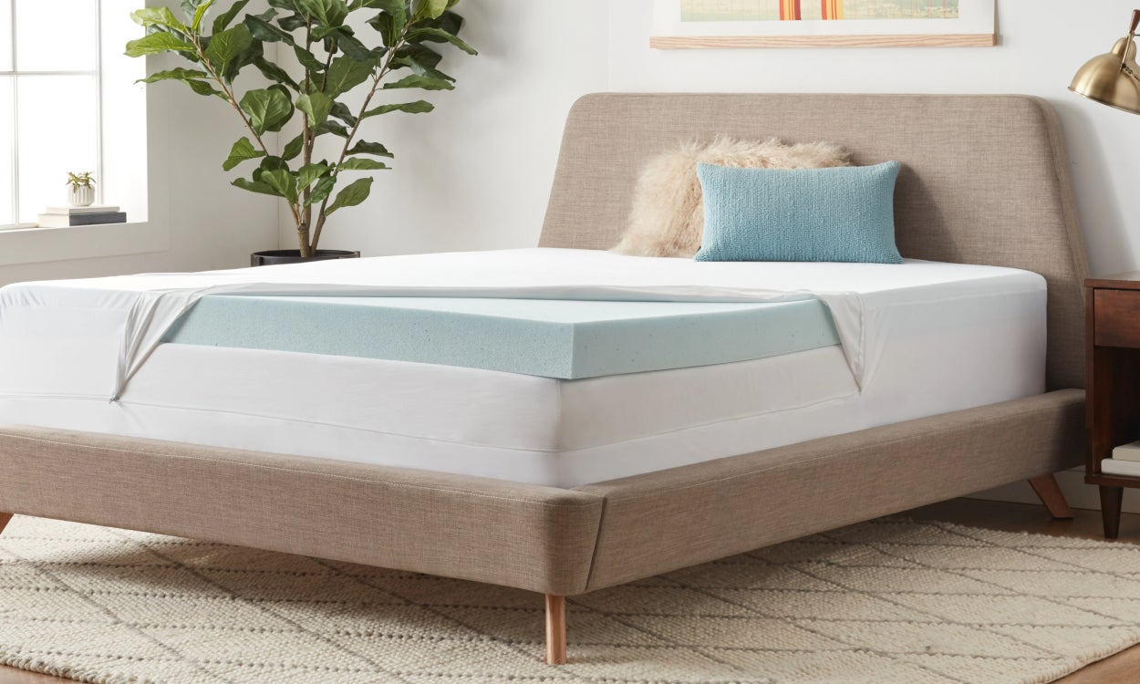 Mattress Topper, Twin Size - Memory Foam, 2-Inch Thickness
