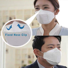 Respirator Safety Face Mask KN95 Gas Pollution & Particulate Matter Barrier