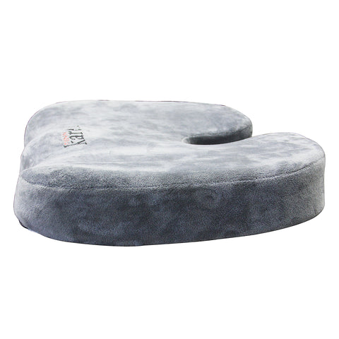 Memory Foam Seat Cushion for Back Pain & Hemorrhoid Treatment (Home, Office, Hospital)