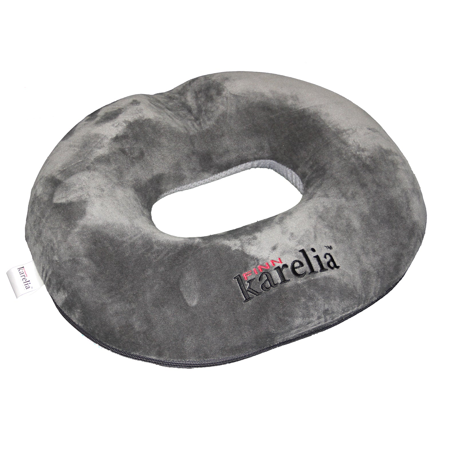 Finn Karelia Memory Foam Donut Seat Cushion For Everyday Use Firm