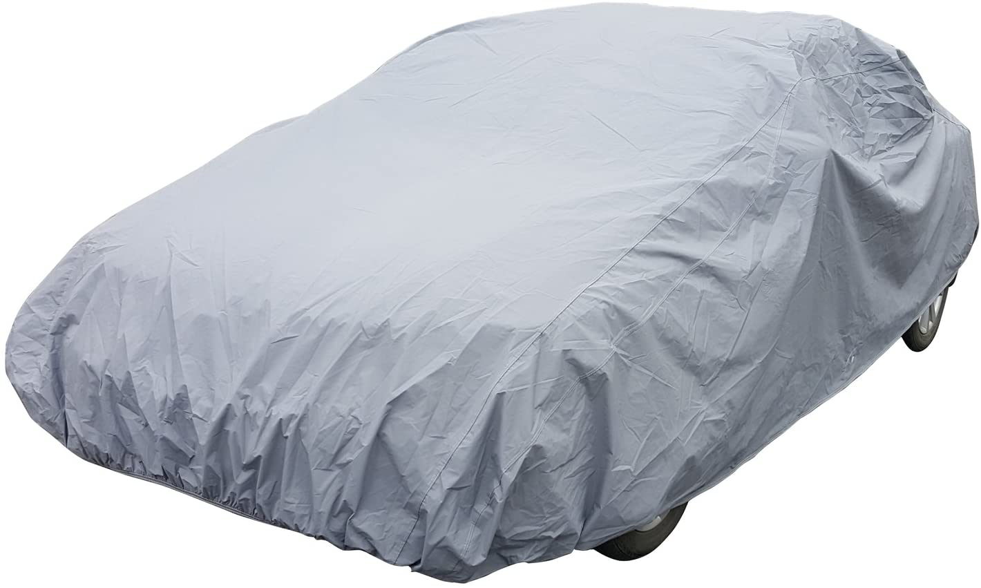 Universal Car Cover Protects Against Weather Damage, Fits Sedan Type Up to 204 Inches Length