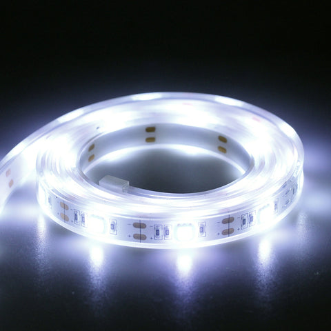 FashionLite USB LED Rope Lights Strip Water-Resistant Dustproof (Cool White, 5-7')