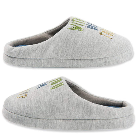 Gray Heart House Slippers In//Outdoor Rubber Sole WOMEN/'S SIZE US 7.5-10.5