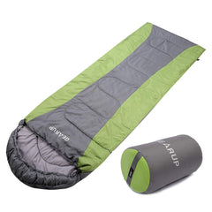 Ultralight 50F Sleeping Bag for Camping Hiking with Carry Case (Green)
