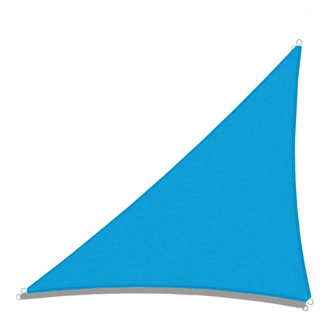Sun Shade Sail for UV Ray Protection - Right Triangle (w/ Hardware Kit)