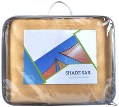 Sun Shade Sail for UV Ray Guard - Yellow, Equilateral Triangle
