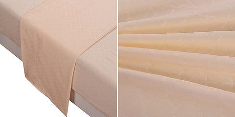 Microfiber Sheet 4-Piece Set - Polyester - Full Size, Beige