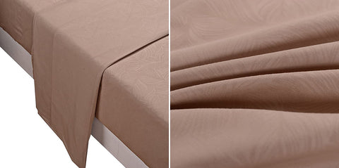 Microfiber Sheet 4-Piece Set (King size, Tan)