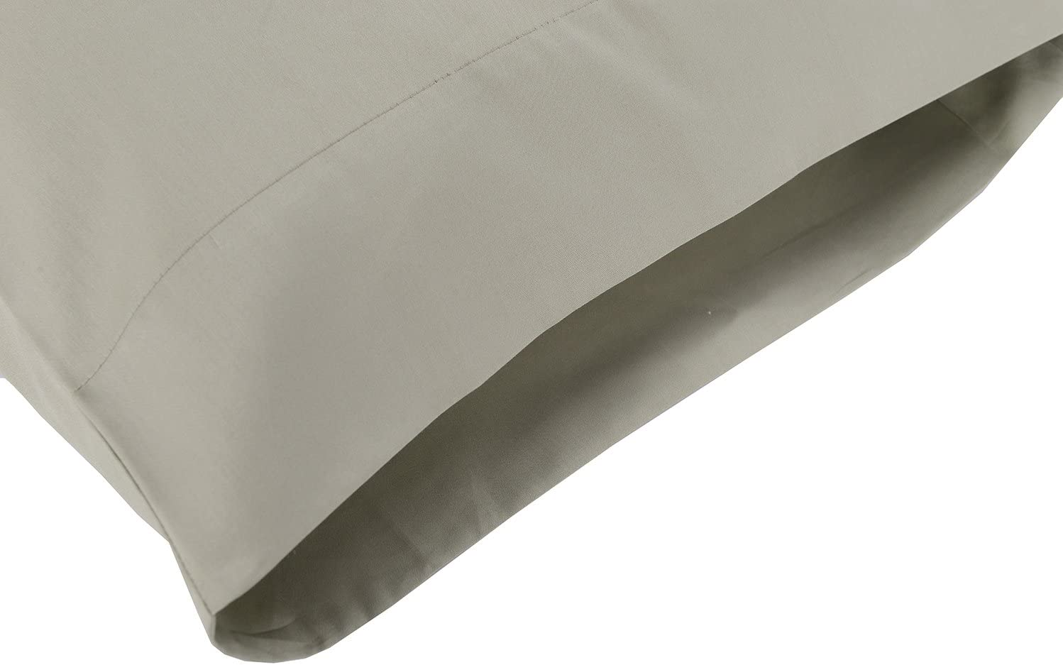 100% Cotton Sateen Bed Sheet Set  (King Size, Sage)