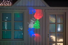 LED Light Projection for Indoors/Outdoors (Christmas or Kaleidoscope Light)
