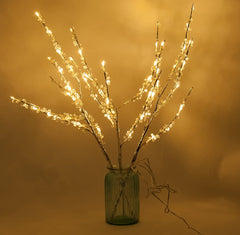 "26"" Tall LED Light Branches w/ 60+ Warm White Bulbs (In/Outdoor Use)"