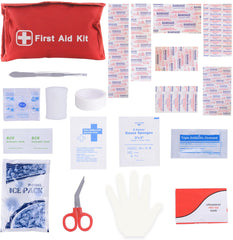 Mini First Aid Emergency Kit 95 PC for Home, Hiking, Travel & Outdoors