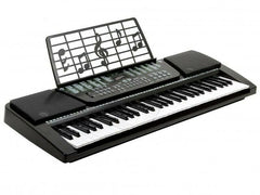 61-Key Electronic Keyboard Piano Kit with 300 Built-in Tones, Music Rest & Demo Songs
