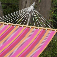 JUNELILY 13FT Textilene Poolside Double Hammock 450-lb Capacity
