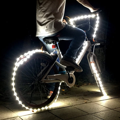 KOMAES USB LED Rope Lights Luminoodle For Backlight Home Decor