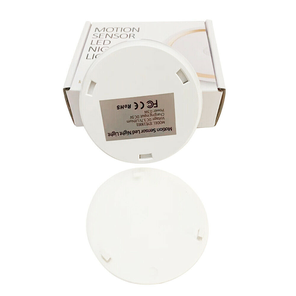 "3"" Motion Sensor LED Night Light For Bedroom Closet Basement Hallways"