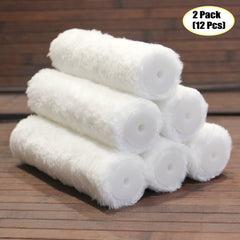 "7"" x 3/8"" Nap Win Paint Lint Free high Density Knitted Polyester Fabric Jumbo Mini Roller Covers"