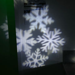 LED Light Projection for Indoors/Outdoors (Christmas, Kaleidoscope, White Star, Snowflake, Dual Mode)