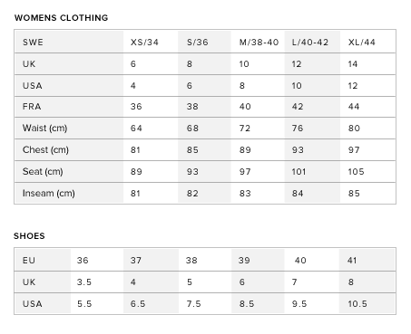 christian louboutin size chart for shoes